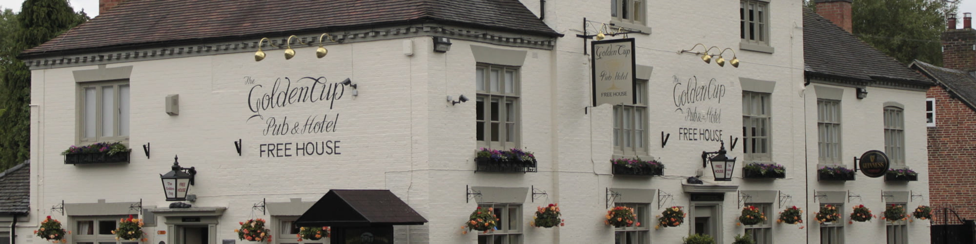 The Golden Cup Yoxall | Hotel  and Inn in the heart of Staffordshire  - Home Page Banner